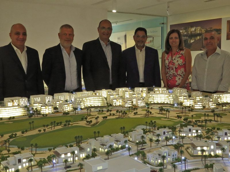 Arab Technical Group Atg And Ayla Oasis Development Has Signed A